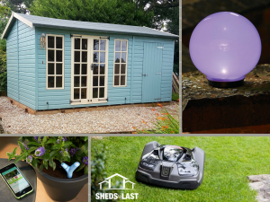 Must have garden tech  for summer 2017 Sheds to Last