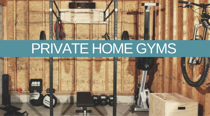 set up a gym in your wooden garden shed