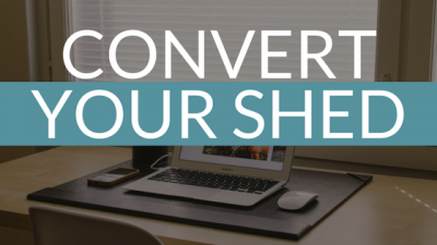 Convert you Devon shed into a home office
