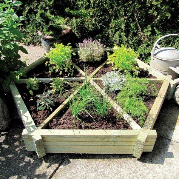 hex herb garden
