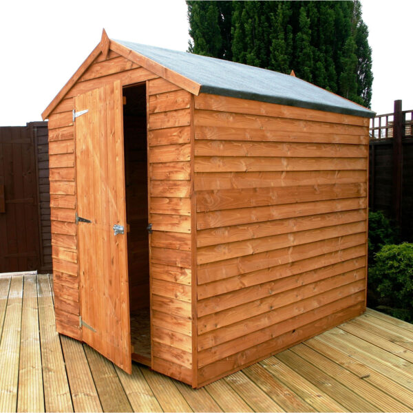 8 x 6 Overlap Apex Shed
