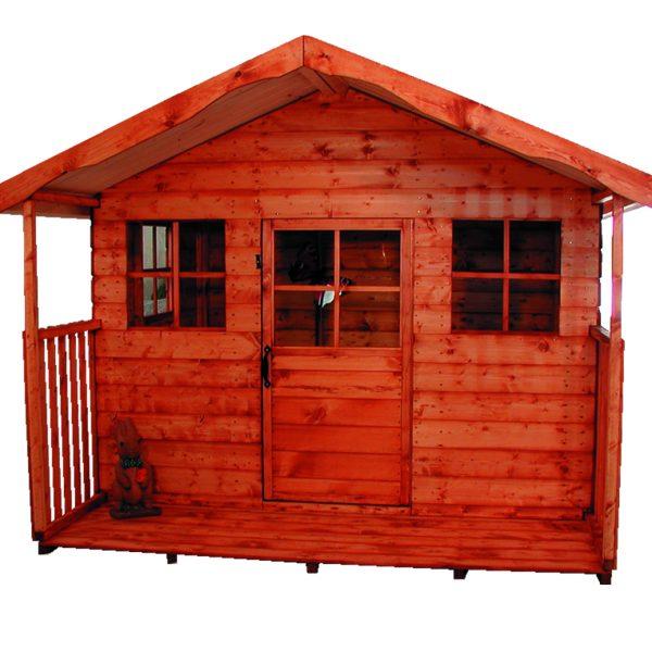 kids playhouse with verandah