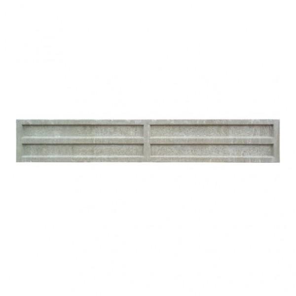 Litecast Intermediate Grey Slotted Post