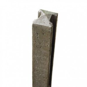 Litecast Intermediate Grey Slotted Posts