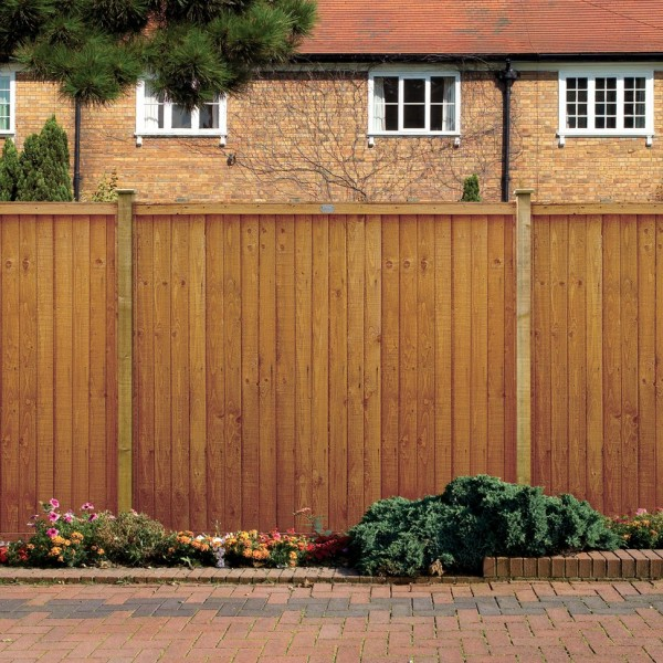 Vertical Board fencing