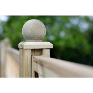 Ball Finial Green – 0.10m