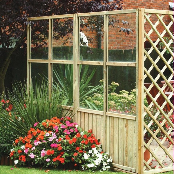 Elite Gazebo Glass Panel 5