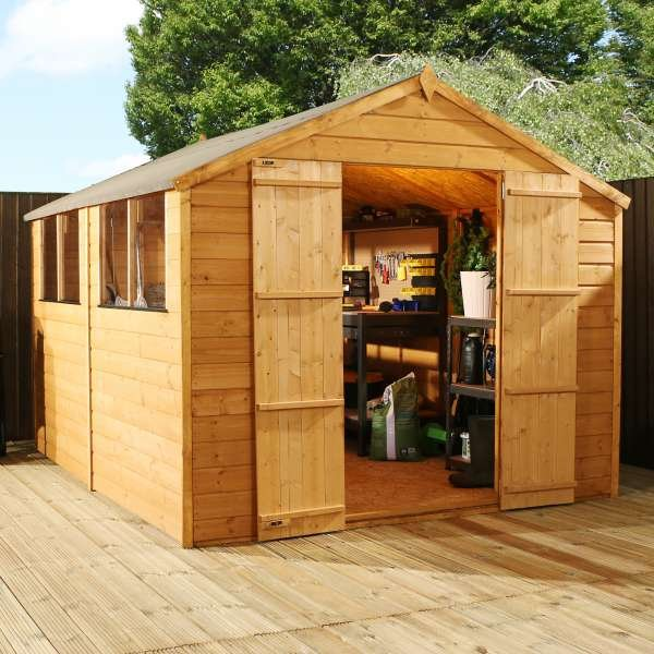 Large Shiplap OSB Apex Shed