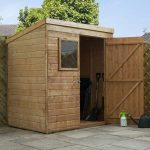 Small Shiplap Pent Shed