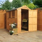6 x 4 Overlap Apex Shed