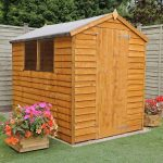 7 x 5 Apex Shed Overlap