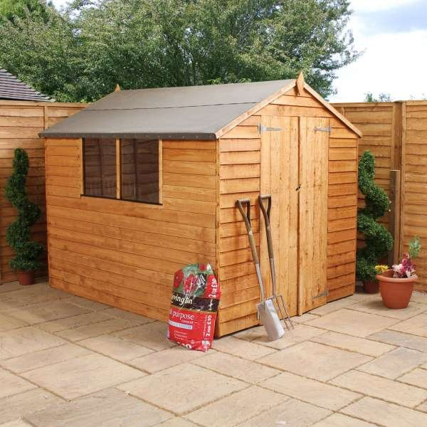 8 x 8 Overlap Apex Shed