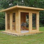 cube garden summerhouse cabin