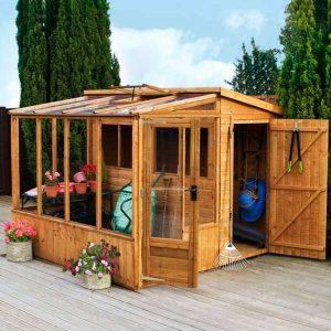 Combi Greenhouse – 8 x 8