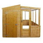 storage and greenhouse