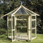 hexagon greenhouse