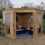 Corner Cabin with double doors