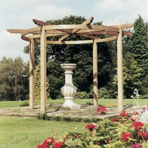 Carousel Pergola Project 2.7m Post