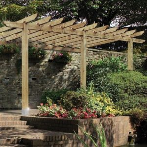 Lean To / Port 12 Pergola 2.7m Posts