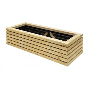 Contemporary Rect Planter Ptg