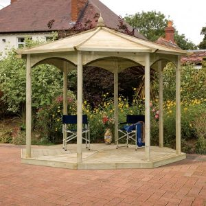 Regis Gazebo (oct) No Sides – 4.02m