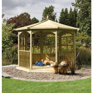 Regis Gazebo (oct) Dressed B – 4.02m