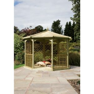 Regis Gazebo (oct) Dressed C – 4.02m