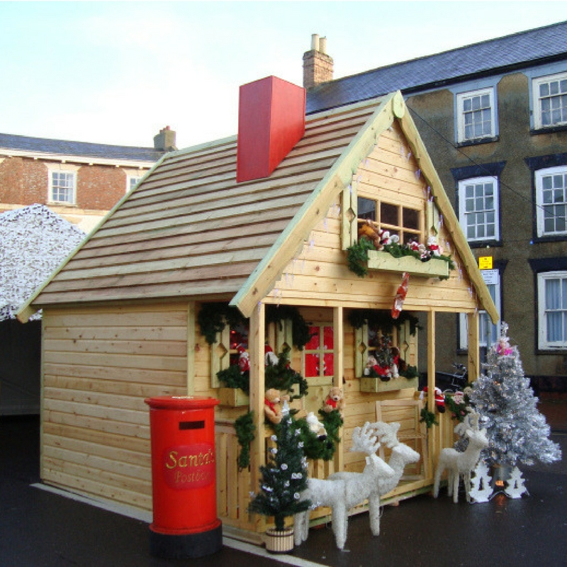 Turn Your Shed Into Santa's Grotto Sheds to Last