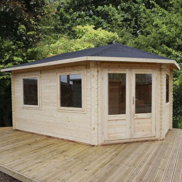 corner cabin shed right