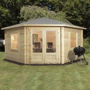 Corner Cabin 4m x 4m