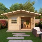 apex cabin with overhang front