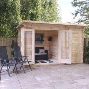 Delamere Log Cabin