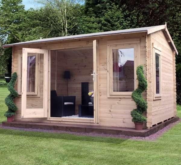 Grizedale Log Cabin studio apex