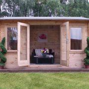 studio log cabin apex