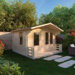 studio log cabin with cabin