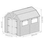 Mercia Dutch Barn Shiplap
