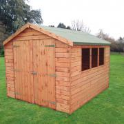 Warwickshire Apex Wooden Shed