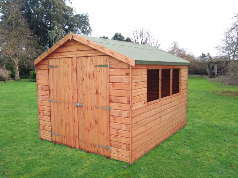 Warwickshire Apex Wooden Shed