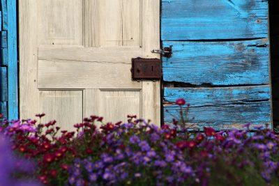 Summerhouse blue paint